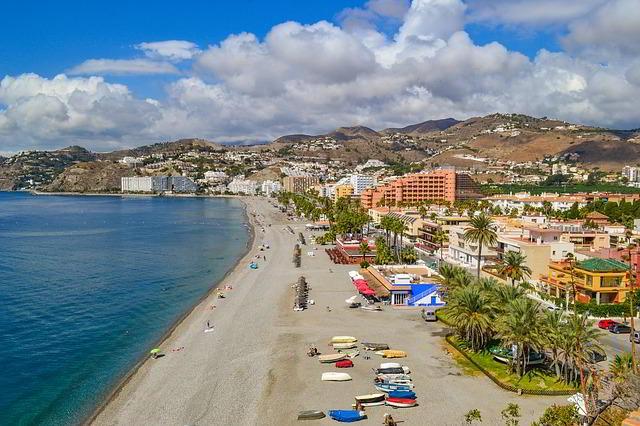 Paseo playa Almuñecar