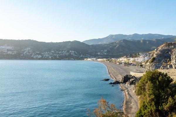 Playa puerta del mar, Almuñécar